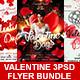 Valentine's Day Flyer Bundle