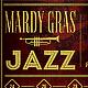 Mardi Gras Jazz Flyer