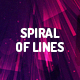 Spiral Motion of Lines Back-Graphicriver中文最全的素材分享平台