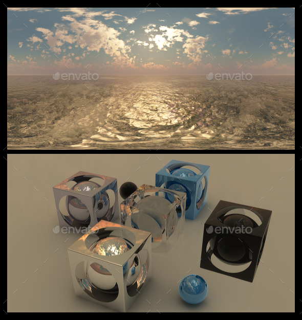 Golden Hour 7 - HDRI - 3DOcean Item for Sale