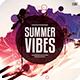 Summer Vibes CD Cover Artwork