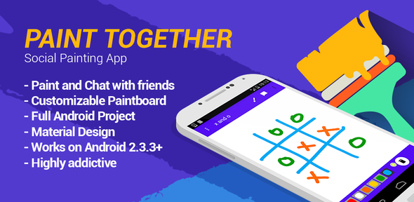Paint Together - Social Painting App - CodeCanyon Item for Sale