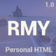 RESUMY - Personal HTML Template