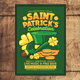 Saint Patrick Celebration Flyer