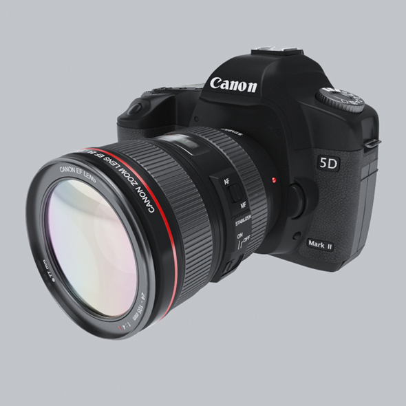 Canon 5d mark 2 - 3DOcean Item for Sale
