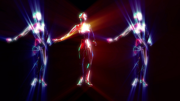 VideoHive Dancing Lights 19431524