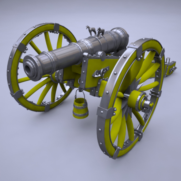 3DOcean Cannon Unicorn 19431847