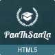 Paathshaala Education Website template
