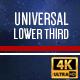 Universal Lower Thirds