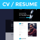 VE RESUME - CV / Resume & Portfolio HTML5 Template