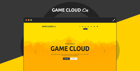 Game Cloud - Muse Template