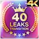 40 Transitions Burn 4K