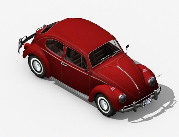 3DOcean Volkswagen Beetle Classic 19433313