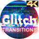 Download Glitch Transitions 4K from VideHive