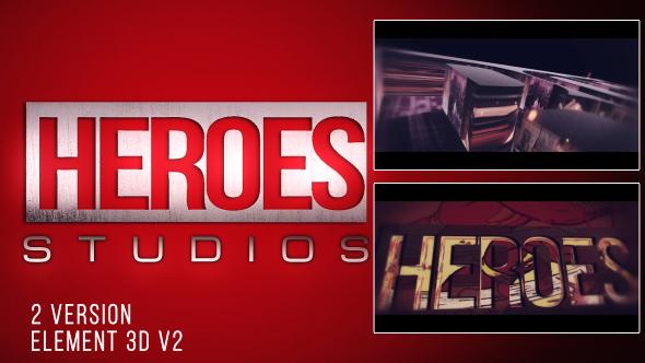 VideoHive Heroes Logo 19434036