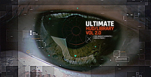 VideoHive Ultimate HUD Library vol 2 19434367