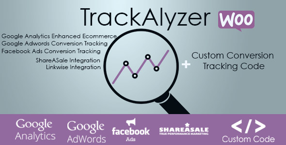 TrackAlyzer – Woocommerce Conversion Tracking (Integrations)