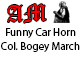 Funny Car Horn Colonel Bogey March