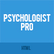Psychologist Pro - Psychologist, Psychotherapist, Psychology, Counseling HTML Template
