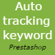Auto tracking search keyword Prestashop Module