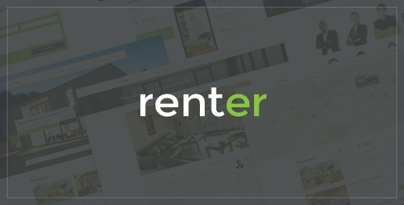 Renter — Property Rent/Sale Real Estate Agency & Realtor Responsive WordPress Theme