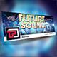 Future Sound Facebook Cover Template
