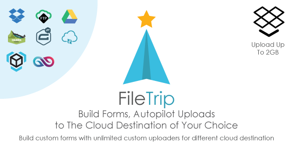 Filetrip | Easily upload to Dropbox + Google Drive + FTP + Wordpress - CodeCanyon Item for Sale