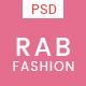 RAB - Fashion eCommerce PSD Template