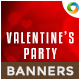 Valentines Party Banners