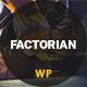 Factorian - Minimal Factory & Industry WordPress Theme