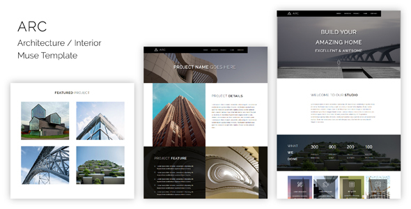 ARC_Architecture / Interior Muse Template (Corporate)