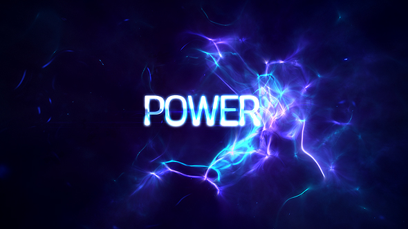 VideoHive Power Light Plasma Titles 19439243
