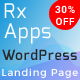 RxApps - Responsive WordPress App Landing Page