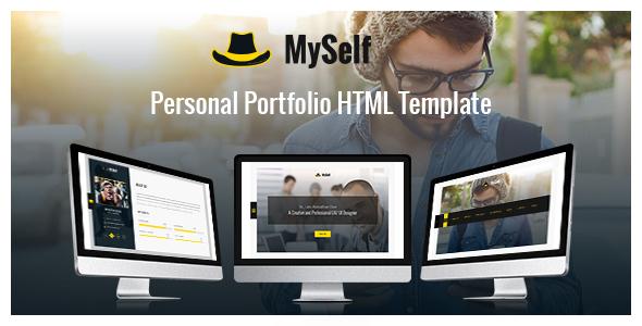 MySelf - Personal Portfolio HTML5 Template