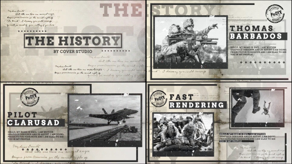 VideoHive The History 19411386