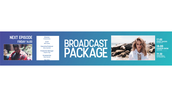 VideoHive Broadcast Package 19440938