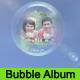 Beautiful Romantic Bubble Wedding Album