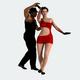 Сouple Dancing Salsa Dance