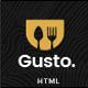 Gusto - Restaurant, Café, Bar, Seafood Restaurant HTML Template