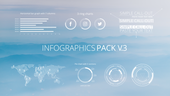 Infographic Ideas videohive infographic template 3 : Infographics Pack V.3 by Chernu   VideoHive