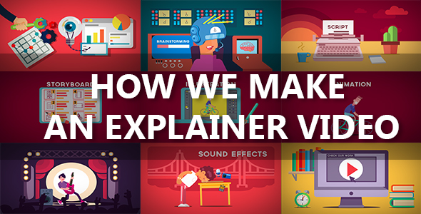 How we make an explainer video by sander00 videohive for Explainer video script template