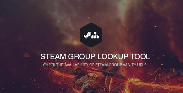 Steam Groupname / Vanity Checker