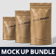 Paper Pouch Bag Mockup Bundle