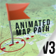 Download Animated Map Path v.3 from VideHive