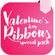 Ribbons Special Velentine's Day