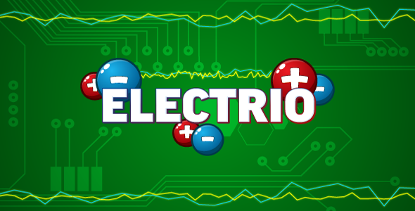 Electrio - HTML5 logic game. Construct 2 (.capx)