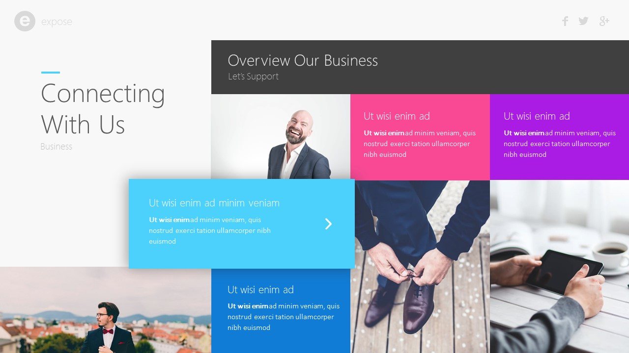 expose business presentation template by brandearth graphicriver expose business presentation template