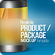 Realistic Product / Package Mock up - GraphicRiver Item for Sale