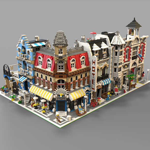 Lego City - 3DOcean Item for Sale