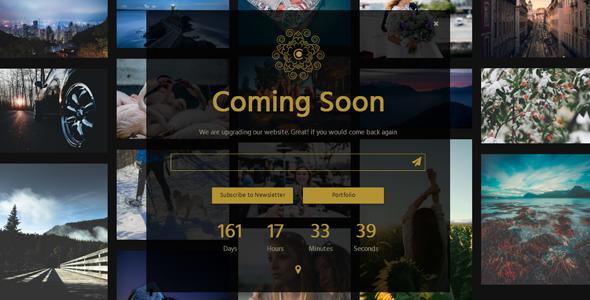 CAROL - Multipurpose Coming Soon Page